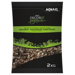 AquaEl - Multicoloured Gravel 2kg 3