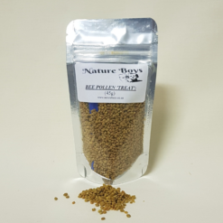 Nature Boys bee pollen treat