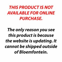 THIS PRODUCT IS NOT AVAILABLE FOR ONLINE PURCHASE.